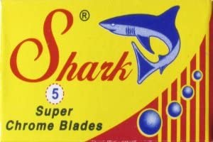 Shark Super Chrome Rasierklingen